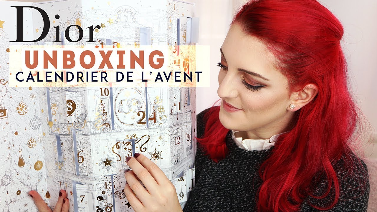 Calendrier De Lavant Dior.Unboxing Le Calendrier De L Avent 2017 Dior Spoilers Lodoesmakeup Hd