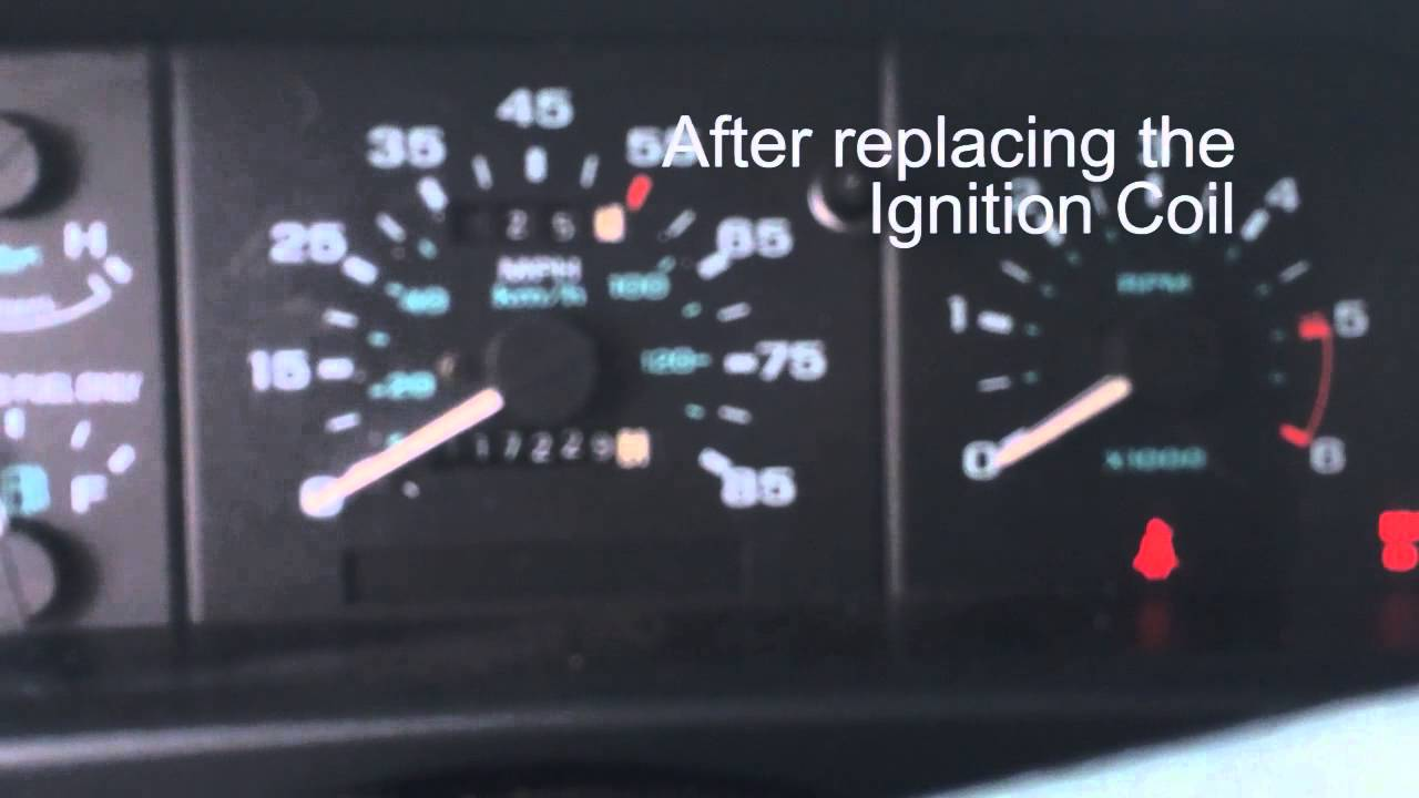 bad ignition wiring 1994 ford ranger with a bad ignition coil youtube