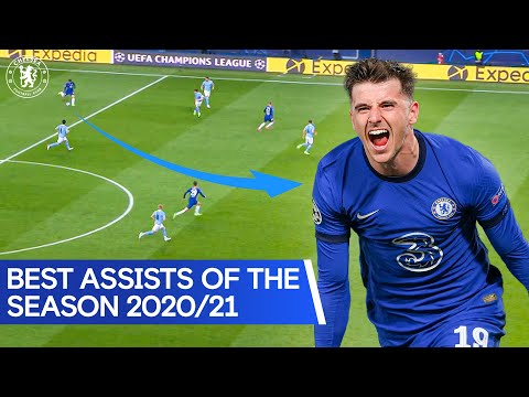 Accurately identify passes and split defense across balls 🎯 |  Werner, James and Moore!  |  Best Assists 2020/21