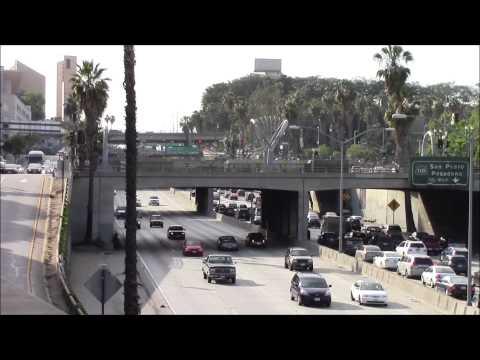 Santa Ana Freeway between exits 2A & 2B, Los Angeles 03/May/2014 サンタ・アナ・フリーウェイ、ロサンゼルス #1