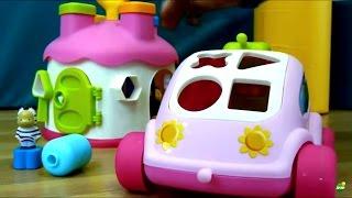 Мультики для маленьких: МАЛЫШИ! Развивающие игры - Машинка сортер. Игрушки для детей.