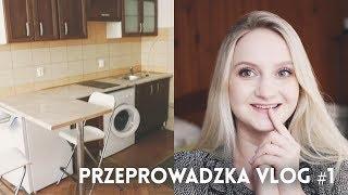 PRZEPROWADZAM SIĘ! Pierwszy look na mieszkanie! Vlog Przeprowadzkowy #1