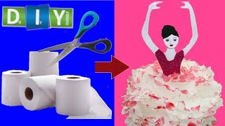 How to Make Paper Doll /DIY Paper Doll Making Tutorial /Paper Crafts