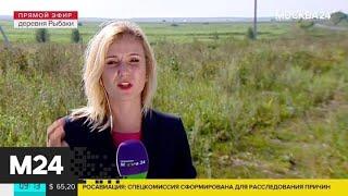Экстренные службы работают на месте аварийной посадки Airbus А321 - Москва 24