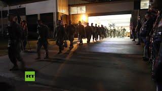 Salen tropas de EE.UU. desde Fort Bragg rumbo a Medio Oriente en medio de crecientes tensiones