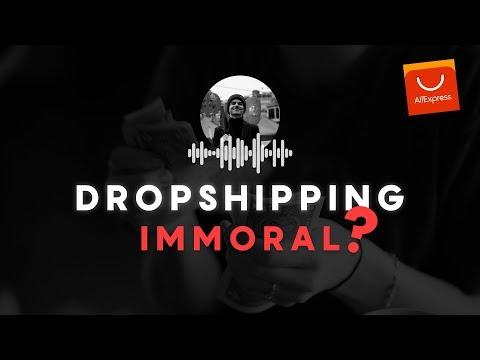 🎙️ VENDRE DES PRODUITS ALIEXPRESS IMMORAL ? - PODCAST
