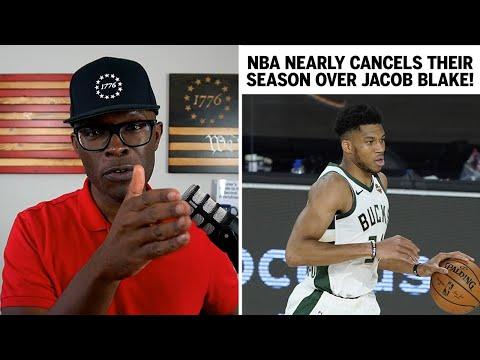 NBA Boycotts ITSELF and Postpones Games Over Jacob Blake!