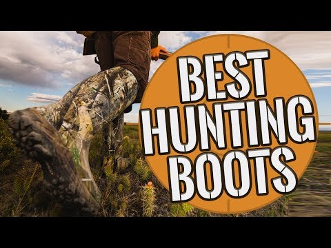 Hunting Boots: Best Hunting Boots For Men 2019 - TOP 10