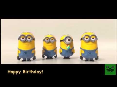 Minion Geburtstag Song Youtube