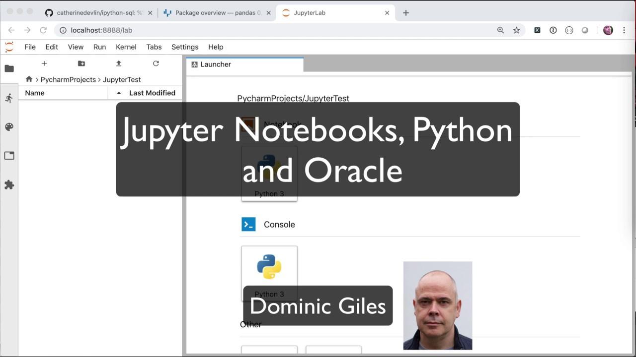 Python | Dominic Giles Blog