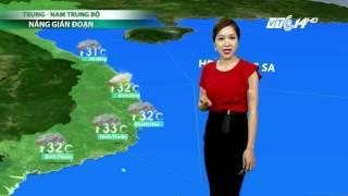 (VTC14)_Thời tiết 6h ngày 16/07/2017  | Bản tin dự báo thời tiết