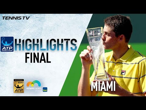 Highlights: Isner's Maiden Masters Moment Comes At Miami 2018
