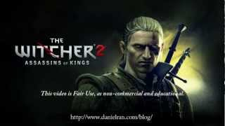 The Witcher 2 - Title Theme; Assassins of Kings (Scrolling Sheet Music Video)
