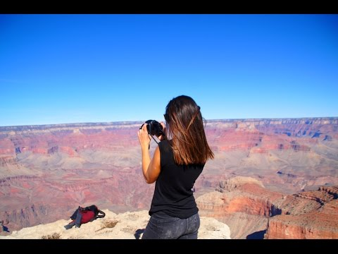 Au pair in USA - Road trip Arizona gopro