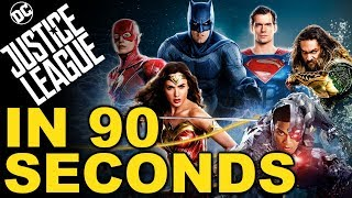 Justice League in 90 Seconds