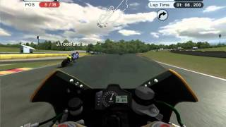 Moto GP 08 gameplay