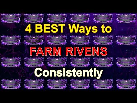 Warframe 4 Best Ways To Farm Rivens Consistently