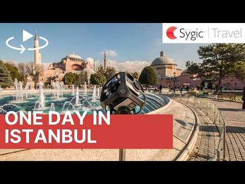 One day in Istanbul 360° Travel Guide with Voice Over