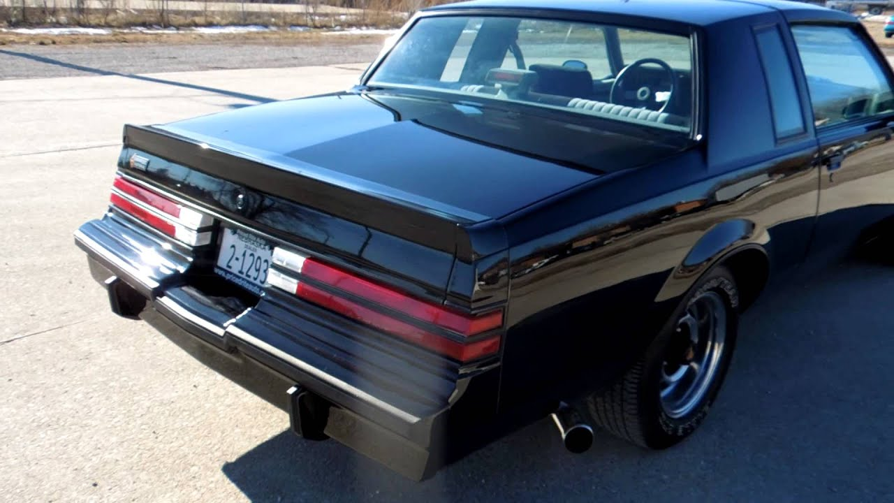 14 Buick Regal Turbo >> 1987 Buick Regal Grand National 57k Original Miles. 3.8L Turbo V6,WOW! in Lincoln NE - YouTube