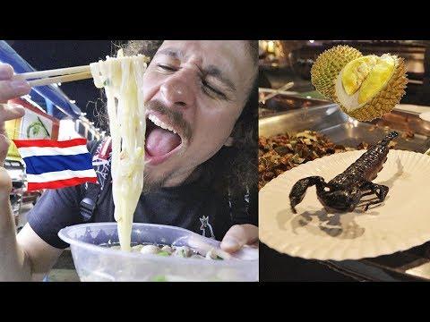 Probando comida callejera en TAILANDIA 🇹🇭| Luisillo El