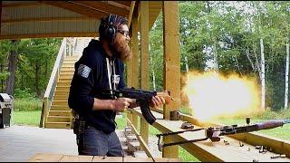 AK-47 FULL AUTO Machine Gun!