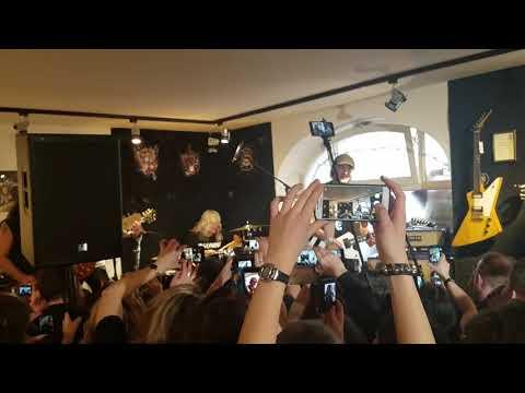 Scorpions Matthias Jabs MJ guitars 10th anniversary party #1 3-10-2018