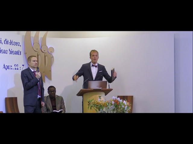 Sermon de Bodo Pawlowski - Église Adventiste de Nice