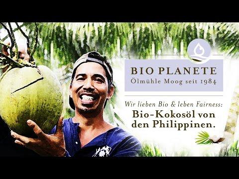 BIO PLANÈTE – Olmühle Moog: Bio-Kokosöl von den Philippinen