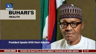 News@10: Buhari Speaks With Femi Adesina 25/02/17 Pt.1