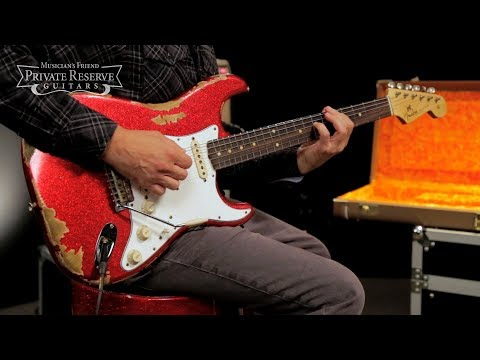 Fender Custom Shop Special Edition '60s Heavy Relic Sparkle Stratocaster Electric Guitar