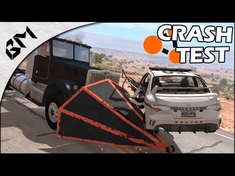 BeamNG Drive - Crash Test - AVION CRASH TEST - On fait tout péter !