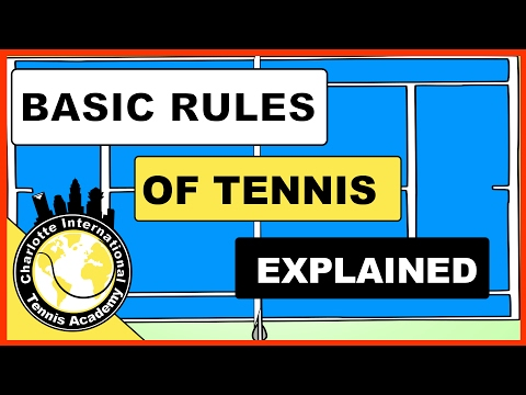 What are the Rules of Tennis How to Keep Basic Score in Tenn