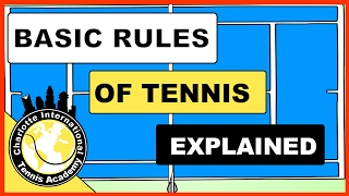 What are the Rules of Tennis How to Keep Basic Score in Tennis