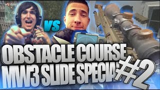 TRICKSHOT OBSTACLE COURSE! #2 - MW3 Out of the Map Trickshotting!