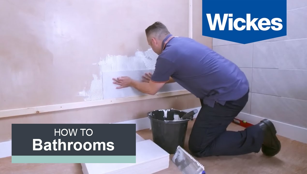How To Mix And Apply Tile Adhesive With Wickes Youtube