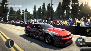 Grid 2 PC Multiplayer: Tier 3 Daijiro Yoshihara Nissan 240SX S13, Drift DLC Pack