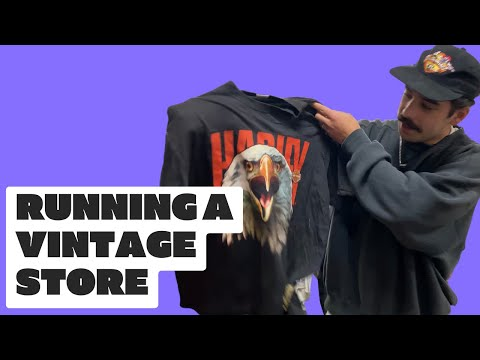 HOW WE RUN A VINTAGE CLOTHING COMPANY