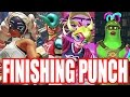 Arms - All Character's FINISHING PUNCHES (Ultimate Punches) & VICTORY POSES (So Far) Nintendo Switch