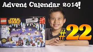 2014 LEGO STAR WARS Advent Calendar DAY 22 - Set 75056 + Question of the Day!