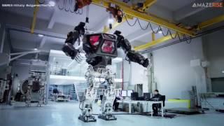 METHOD 1  manned robot project by  Korea Future Technology  주한국미래기술 & Vitaly Bulgarov   3