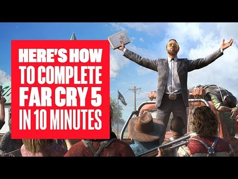 It is possible to conclude the Far Cry 5 campaign in ten minutes