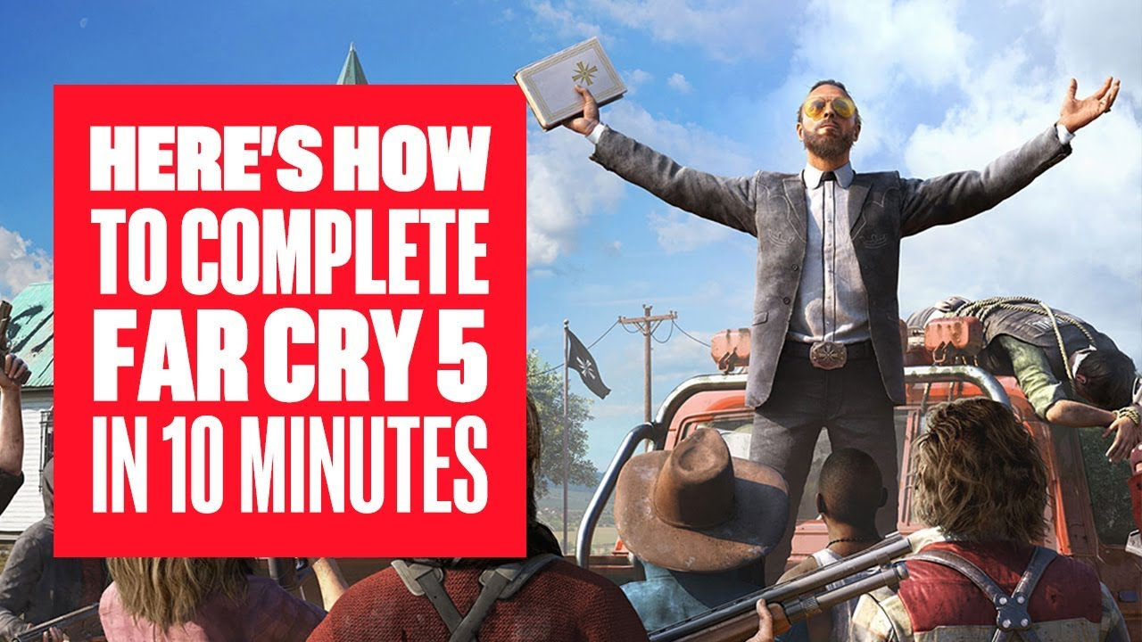 Far Cry 5 ending choices - how to unlock all alternate and