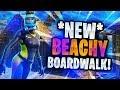 Fortnite *NEW* BEACHY BOARDWALK! | Bye Loot Lake! [Playground Build]