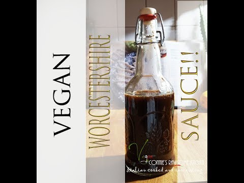 VEGAN Worcestershire sauce for vegan steaks!! | Connie's RAW