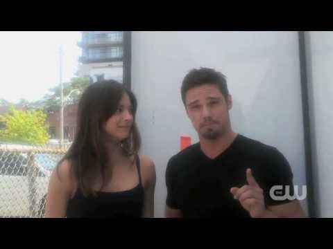 Kristin Kreuk & Jay Ryan  Art Contest Video