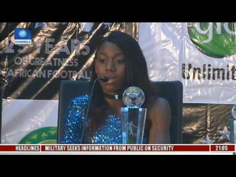 CAF Awards: Oshoala Advocates More Support For Female Football In Africa