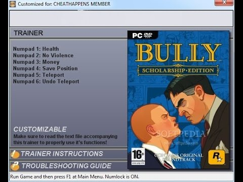 How To Use Bully Cheats For Pc Only-Updated Tutorial-FurosicHD