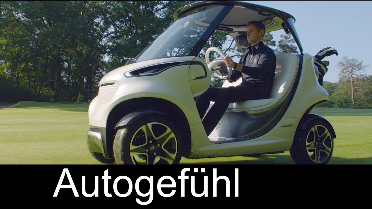Rolls Royce Golf Cart >> First Mercedes Golf Cart premiere reveal - Style Edition Garia Golf Car - YouTube