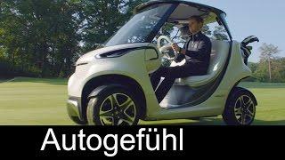 First Mercedes Golf Cart premiere reveal - Style Edition Garia Golf Car