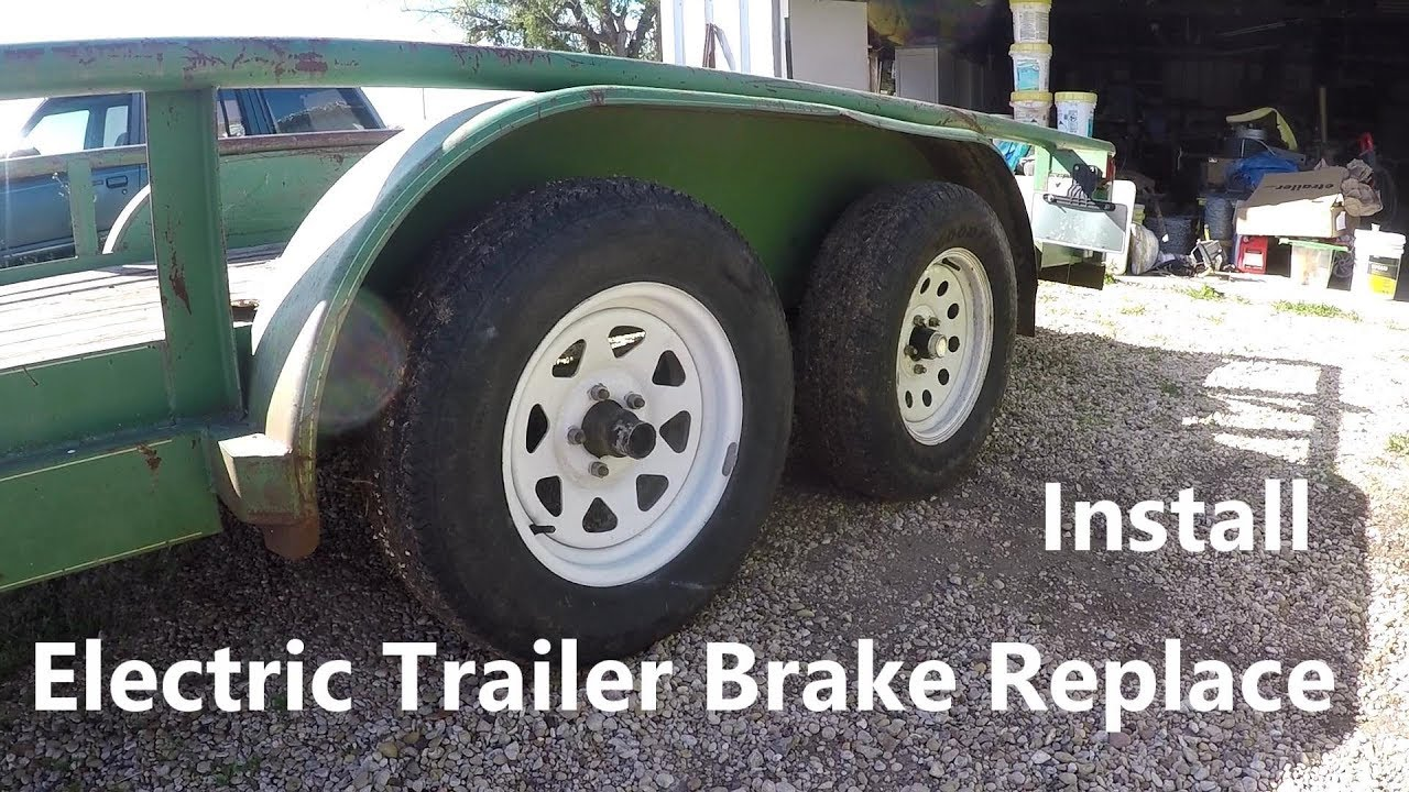Installing Electric Trailer Brakes